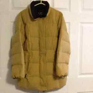 3/4 length down coat
