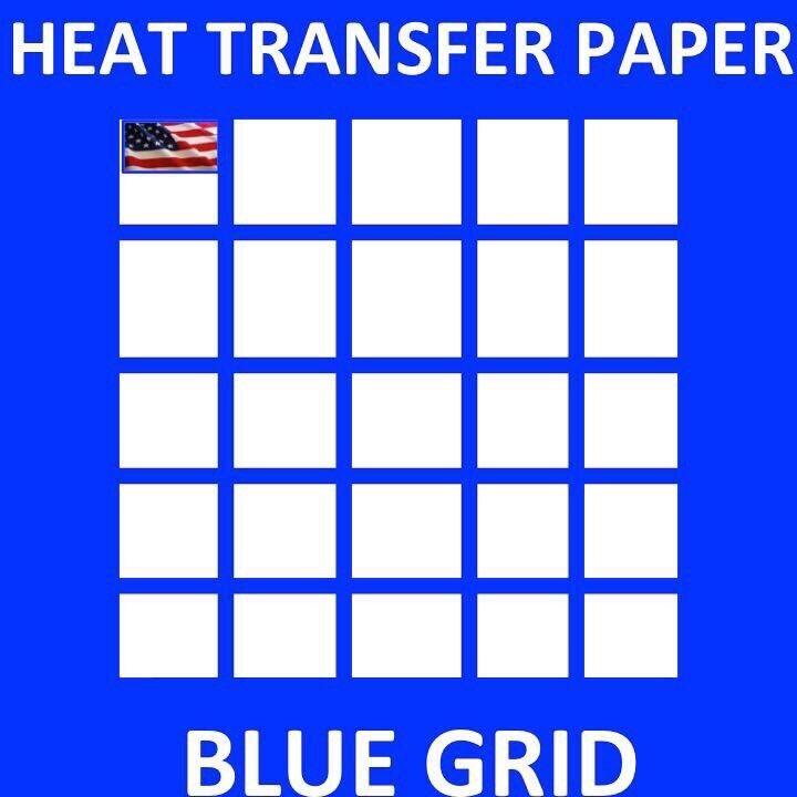 "InkJet HEAT TRANSFER PAPER  IRON ON DARK T SHIRT 25 PK 8.5""x11"" Made in USA"