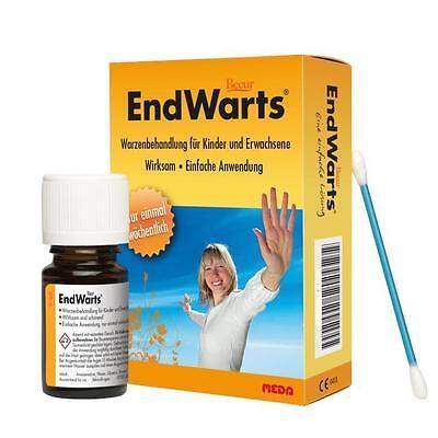 Endwarts Lösung 3ml gegen Warzen Warzenbehandlung einmal pro Woche  PZN 10230801