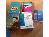 Selection of law books