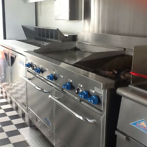 20ft Food Trailer - Professional Mobile Kitchen