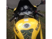 Suzuki tl1000r rear bike