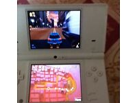 Nintendo dsi White with charger and games