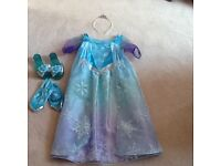 Elsa from frozen dress