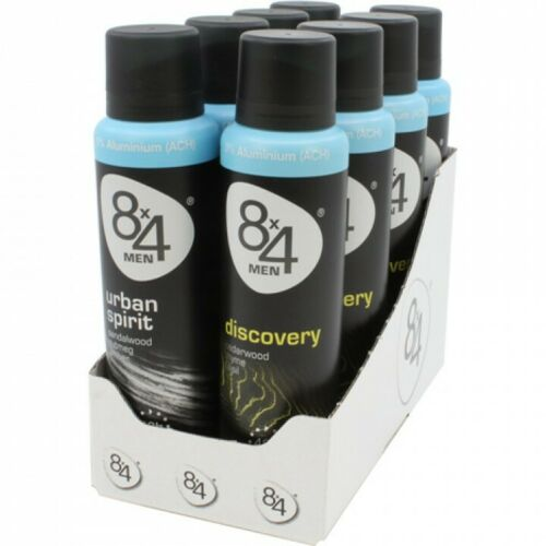 8x4 Deospray   8*150ml for Men  Mix