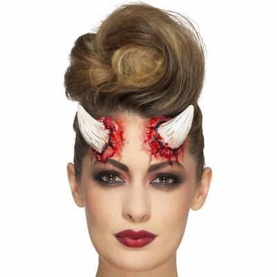 Elfenbein Realistisch Fx Teufelshörner Prothetische Make-Up Halloween