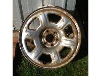 Nissan navara D40 spare wheel 3X00A..