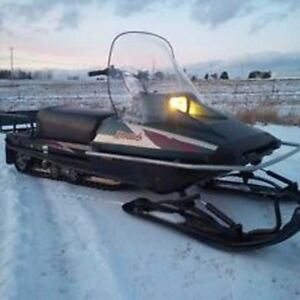 Ultimate family sled 08 Yamaha bravo 250 trappers edition