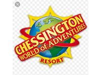 1 Chessington world of adventure ticket for any day (Great deal )