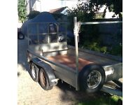 Wessex 10 X 5 plant trailer