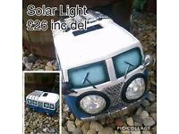Camper Van Solar Light