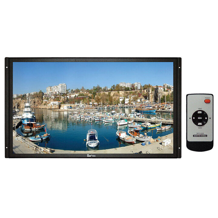 "TVIEW TRP25 25"" Tft Lcd Raw Monitor Universal Mount Remote"