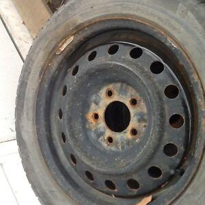 Michelin winter tires  205/55R16 on rims Edmonton Edmonton Area image 6