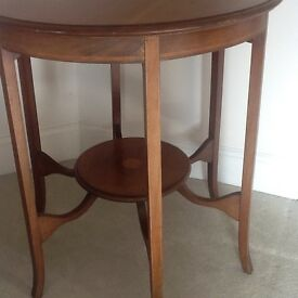 Wooden occasional table