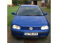 Volkswagen Golf 1.9 TDI with Towbar