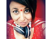Lively Asian Female DJ Missy D for Ladies Only Events, Lady DJ. Female Only DJ