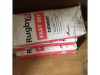 Fast set cement
