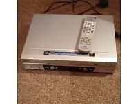 JVC DVD and video player recorder