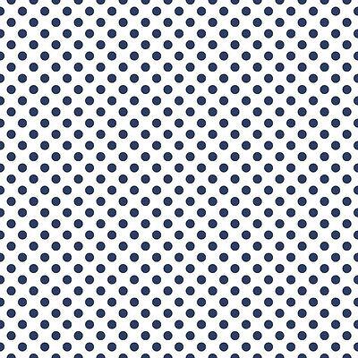 Riley Blake Cotton Fabric Gray /& White Mini Quatrefoil