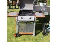 Gas Barbecue with Gas Bottle