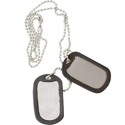 Militär Hundemarken Erkennungsmarke Halskette Herren Jungen Soldat - Militär Hunde Kostüm