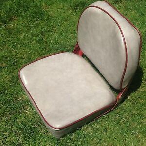 Aluminium soft cushion boat seat