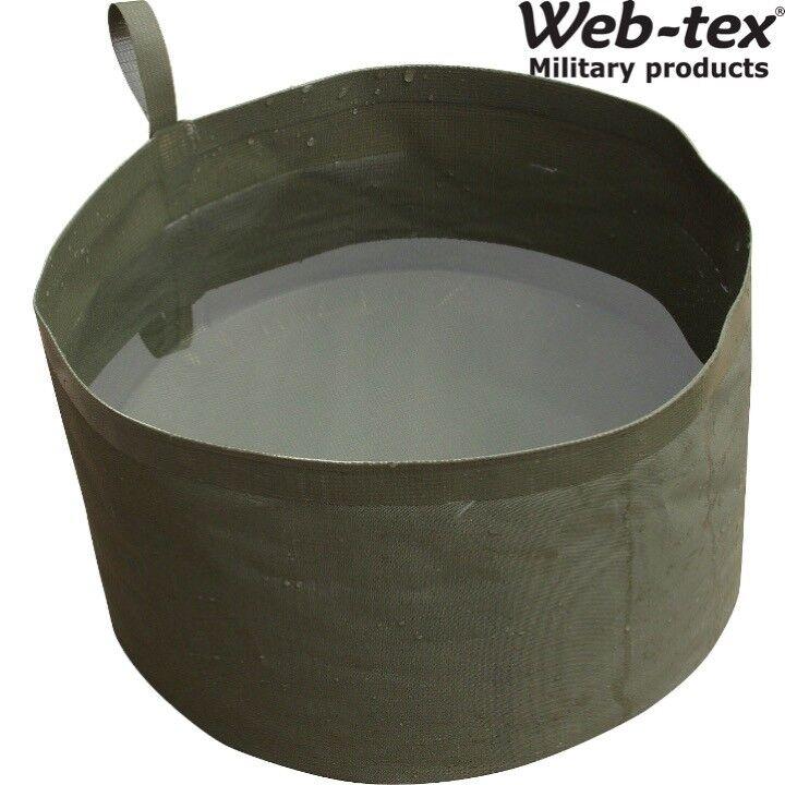 WEB-TEX zusammenklappbar zusammenfaltbar Wassernapf 4 litres Camping Wandern