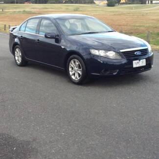 2010 Ford Falcon FG duel fuel with 7 months rego and R.W.C