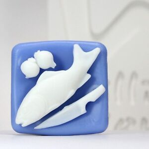 Fish handmade silicone soap mold candle mould diy craft molds for Silicone fish molds