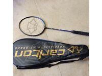 Carlton tennis racquet, Aerogear 800FX,cover with zip and handle, good condition