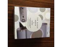 Ted Baker Audio Fastnet High Performance Wireless Bluetooth Speaker White & Gold Brand New