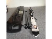 Quality Fischer Motive 76 Skis - 170cm - with RS10 bindings and Salomon poles