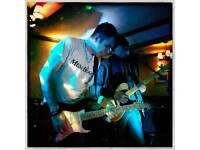 Experienced versatile guitarist available