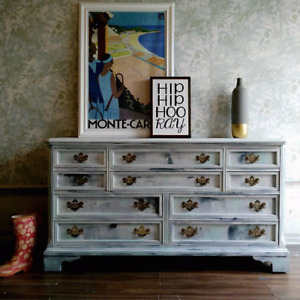 Boho chic vintage furniture