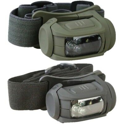 TACTICAL PREDATOR HEAD LAMP II LED HEAD TORCH WHITE RED LIGHT MOLLE CADET ARMY ()