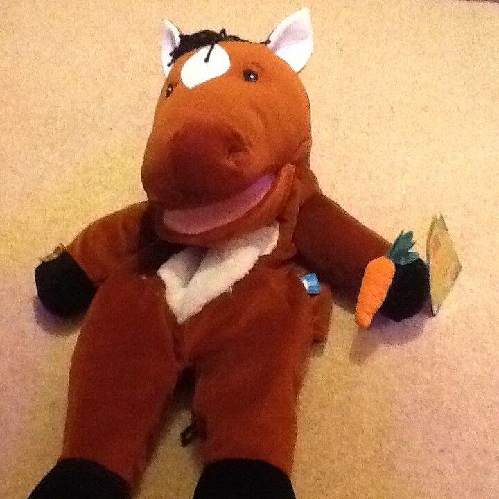 Puppet donkey soft toy