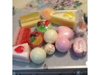 Cake shaped soaps