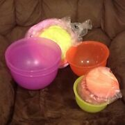Tupperware Expressions Bowls Range - $5-$20 each Rothwell Redcliffe Area Preview