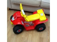 Toddler 6v battery quad bike