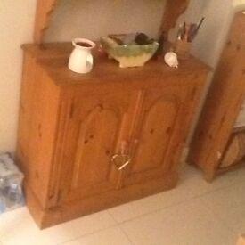 Oak Side Cabinet