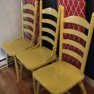 See photos set of 4 chairs