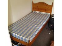 Single bed + mattress