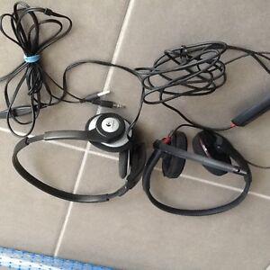 Excellent condition -microphone head set