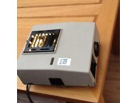 """Boots 150 Projector semi automatic c/w lamp for 2x2"""" slides and screens"""