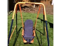 Headstrom baby/toddler garden swing