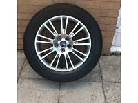 "NEW 17"" FORD KUGA SPARE ALLOY WITH TYRE - 1 OFF"
