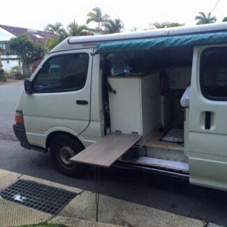Campervan toyota poptop Mermaid Beach Gold Coast City Preview