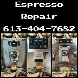 Espresso Coffee Maker Repair Ottawa