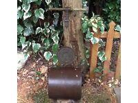 """Harrods"" Vintage Garden Roller"