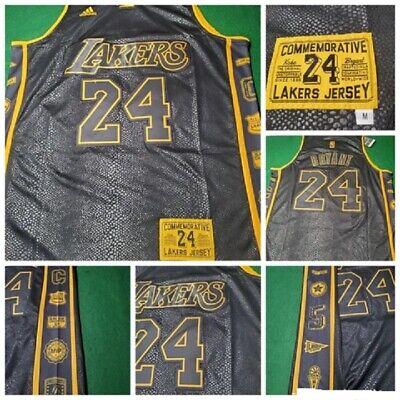 KOBE CAMISETA DE LA NBA DE LOS LAKERS CONMEMORATIVA.TALLA S,M,L,XL,2XL.